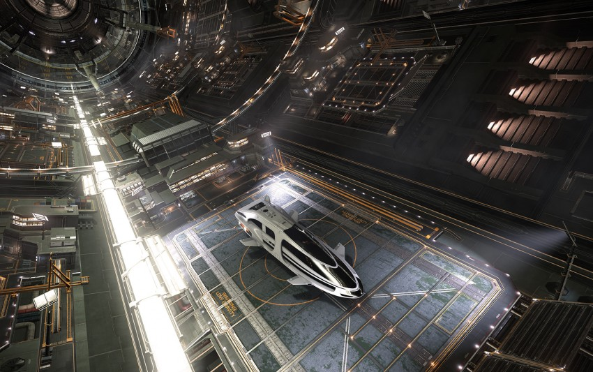 Watch the new Elite: Dangerous Launch trailer